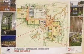 recreation center floor plan second public meeting on multigenerational center design held