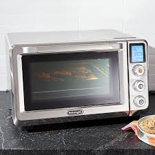 Microwave And Toaster Oven Delonghi Livenza Convection Toaster Oven Crate And Barrel