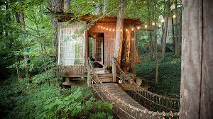 Treehouse Living A Treehouse In Atlanta Is The World U0027s Most Desirable Airbnb