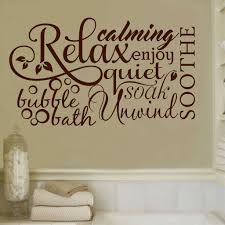 relax bubble bath collage bathroom vinyl decal wall lettering bathroom decal relax bubble bath word collage vinyl wall lettering quote