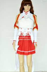 wholesale sword art online cosplay asuna yuuki cosplay costume