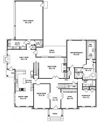four bedroom house plans one story 4 bedroom single story house plans luxury one floor picture open
