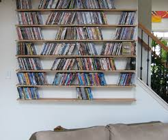 Industrial Looking Bookshelves by Industrial Looking Hanging Media Shelves 8 Steps With Pictures