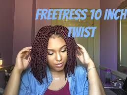 crochet braids w freetress single twist 10inch theharelife my