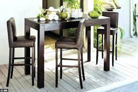 table de cuisine avec tabouret table cuisine avec tabouret table haute avec tabouret pour cuisine