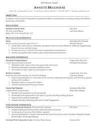 work resume exles sle social work resume exle objective for internship
