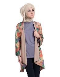 blazer wanita muslimah modern 15 contoh gambar model baju muslim gaul masa kini