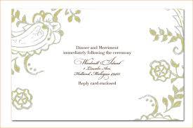 free wedding invite templates free printable blank wedding