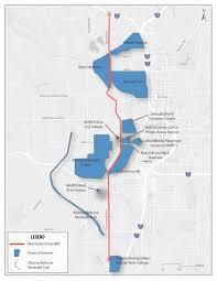 Atlanta Beltline Trail Map by Marta Northside Drive Bus Rapid Transit