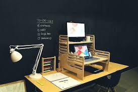 Office Desk Plans Woodworking Free by Desk Stand Up Desk Plans Free How To Stylishly Design A Standing
