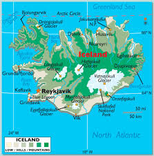 Iceland On World Map by Scenic Iceland