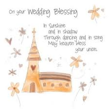 wedding blessing the rainbow range wedding blessing greetings card by design