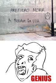 Genious Meme - genius graffiti meme by arturo2787 memedroid