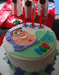 easy buzz lightyear toy story birthday cake idea for beginners