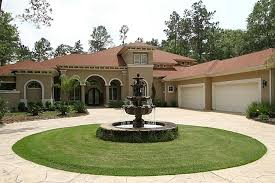 Design Your Own Front Yard - circular driveway design the home design driveway design with