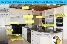 safety tips for thanksgiving kitchen safety infographic keep your kitchen safe
