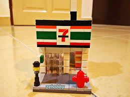mitsubishi lego zehobby third party hsanhe brand lego brick toy 7 eleven edition