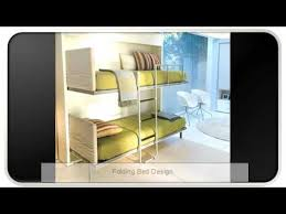 folding bed design youtube