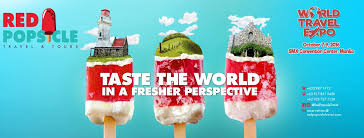 Travel Expo images World travel expo on twitter quot red popsicle travel and tours is jpg