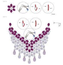 swarovski crystals necklace design images Diy swarovski crystal necklace free design and instructions png