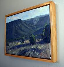 do you have a lot of plein air paintings in your studio and you want canvas fray
