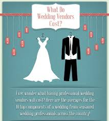 wedding vendors top 10 wedding infographics