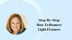 step by step how to remove light fixtures youtube