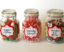 christmas candy gifts christmas candy jar labels allfreechristmascrafts