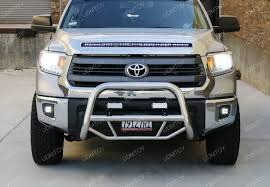 how to install toyota tundra led fog lights