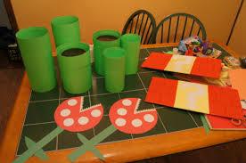 Diy Birthday Party Theme Ideas Diy Super Mario Bros Birthday Party Real Honest Mom