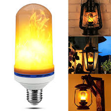 light bulbs that flicker like candles 2017 new candle l e26 led flame fire light effect simulated