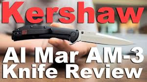 kershaw am3 2335 knife review an al mar design with speed safe