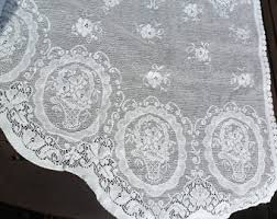 lace curtain panel etsy