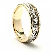 celtic knot wedding bands inset celtic knot wedding band celtic rings ltd