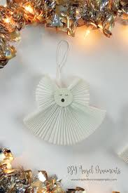 accordion fabric ornaments inspiration made simple