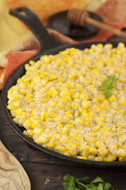 honey butter skillet corn wishes and dishes