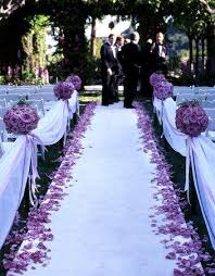 aisle runner wedding ceremony flowers lining the aisle runner 2067091 weddbook