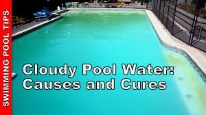 Cloudy Pool Water Causes and Cures