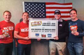 bigs bacon sunflower seeds bigs donates to in honor of mohr sports bigs