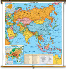Asia Political Map Asia Physical Map