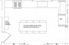 kitchen with island floor plans simple kitchen floor plan house floor plans