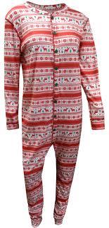 webundies reindeer sweater union suit pajama with drop