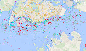 Singapore Map Asia by Something Stunning Is Taking Place Off The Coast Of Singapore