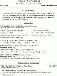 National Honor Society Resume Example High Resume Examples For College Admission Best Resume