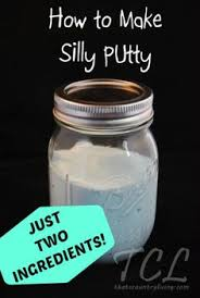 How To Get Silly Putty Out Of Carpet Silly Putty This Only Calls For 2 Ingredients That You Already