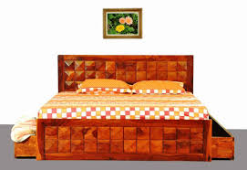 Buy Wooden Bed Online India Wooden Divan Beds With Storage Stylish Diamond Wooden Bed With