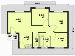 simple floor plans for houses a simple three bedroom house plan beautiful 3 bedroom 1 floor