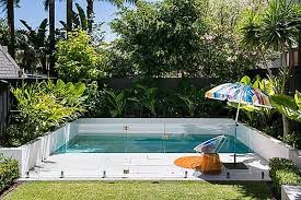 small yard pool small yard small pool