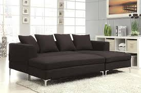Black Microfiber Sectional Sofa With Chaise Microfiber Sectional Sofa With Chaise And Cuddle Black Recliner