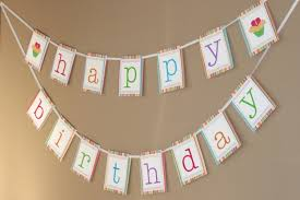 free printable happy birthday banner templates best business